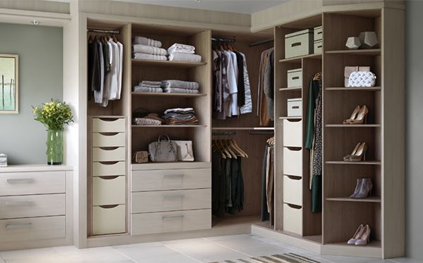 John Lewis fitted corner storage