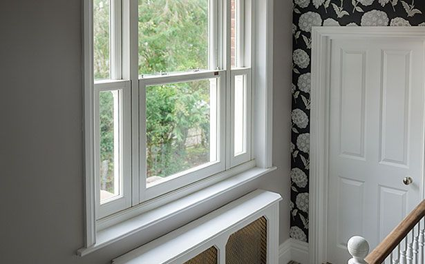 Anglian uPVC sash double glazed windows