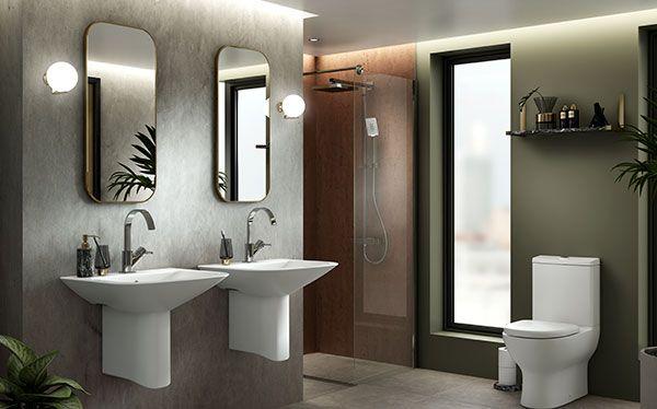 Wickes Inca bathroom