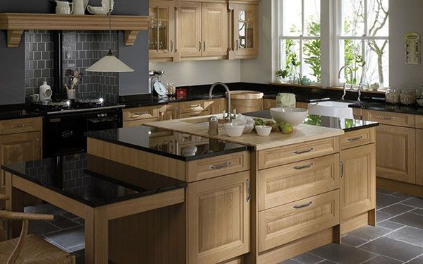 Country kitchen Betta Living wood kitchen