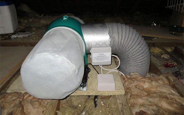 Drimaster Heat ventilation system