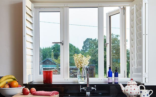 Anglian uPVC casement double glazed windows