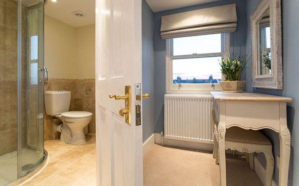 Shower room in dormer loft conversion
