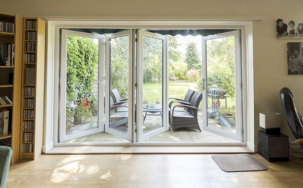 Safestyle bi-fold double glazed doors