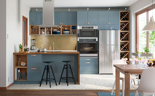 Ikea Kallarp kitchen