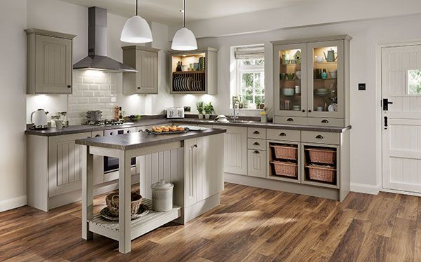 Howdens Joinery Burford Tongue and Groove kitchen