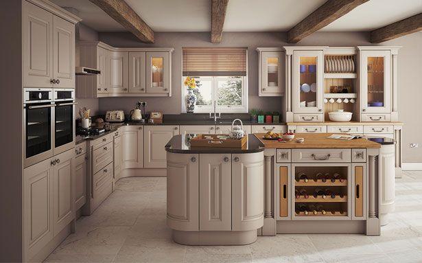 DIY Kitchens Silsden Cashmere kitchen