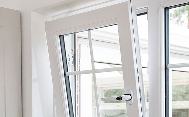 Everest tilt and turn double glazed windows