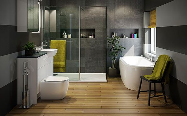B&Q Helena bathroom by Cooke & Lewis