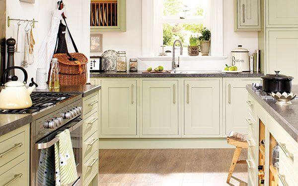 Wickes Heritage Sage kitchen