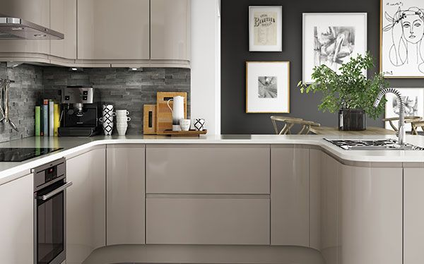 Benchmarx Holborn Gloss fitted kitchen