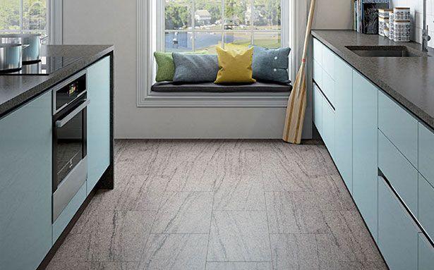 Modern Magnet kitchen flooring