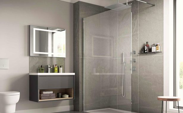 Homebase Balterley Wetroom bathroom