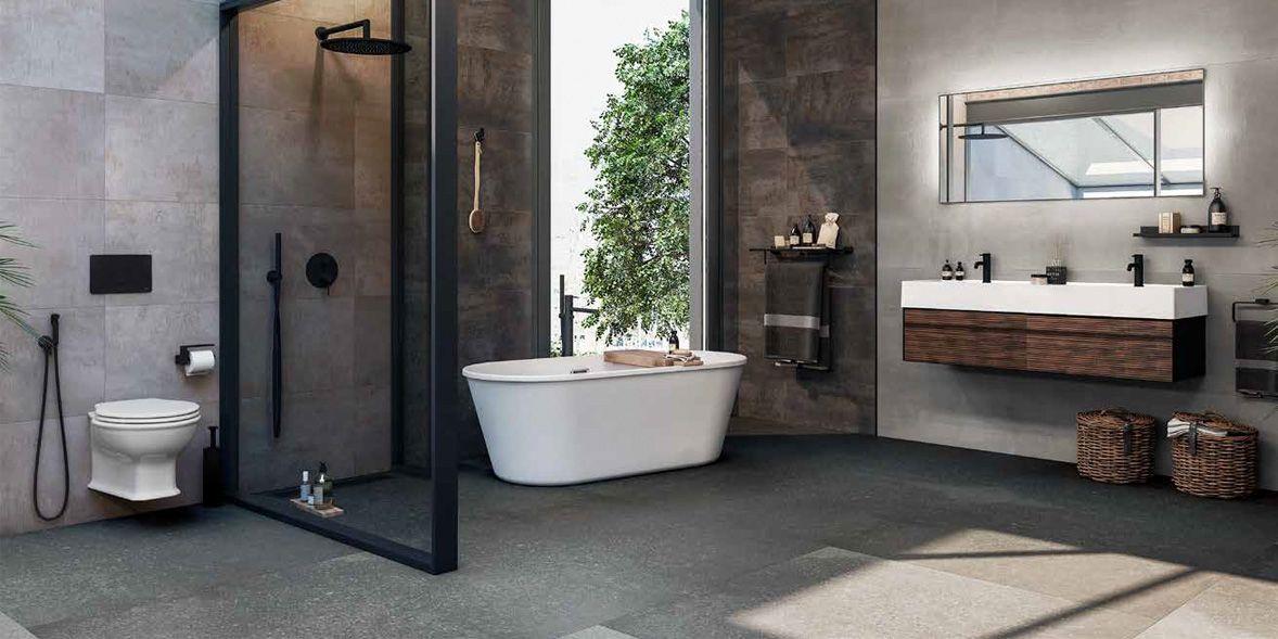 Porcelanosa bathroom - visit our Porcelanosa bathrooms brand page.