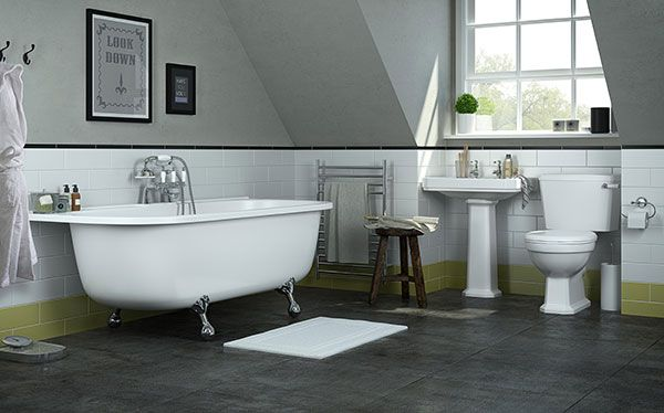 B&Q Serina bathroom by Cooke & Lewis