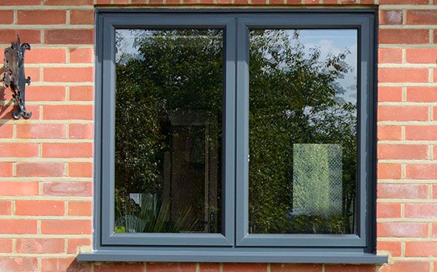 Anglian aluminium casement double glazed windows
