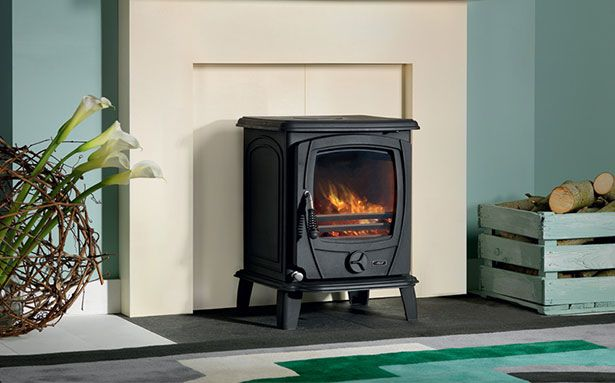 Aga Shawbury wood-burning stove