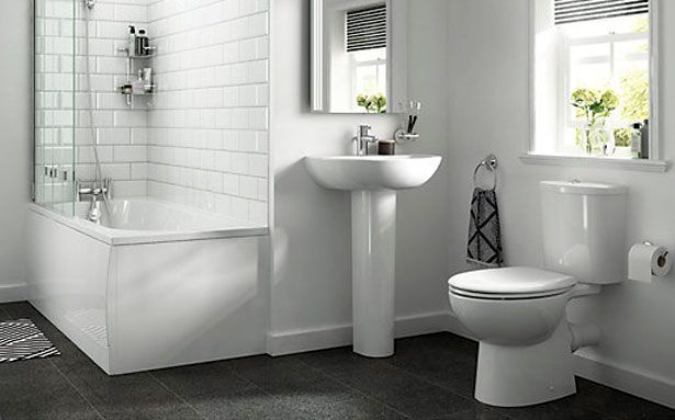 Travis Perkins Iflo Cascada bathroom