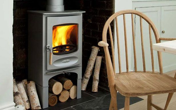 Charnwood C-Six multi-fuel stove
