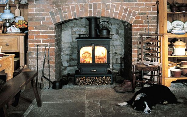 Clearview 650 multi-fuel or wood-burning stove