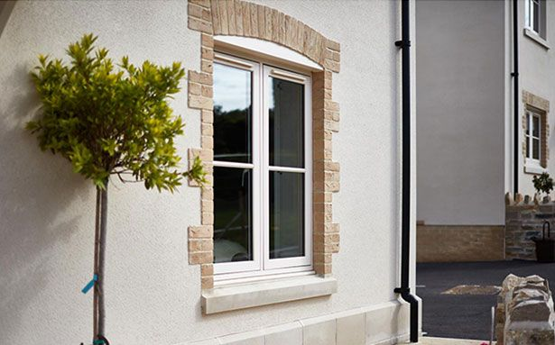 Anglian uPVC flush casement windows