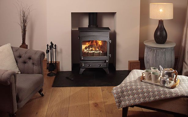Woodwarm Fireview multi-fuel stove