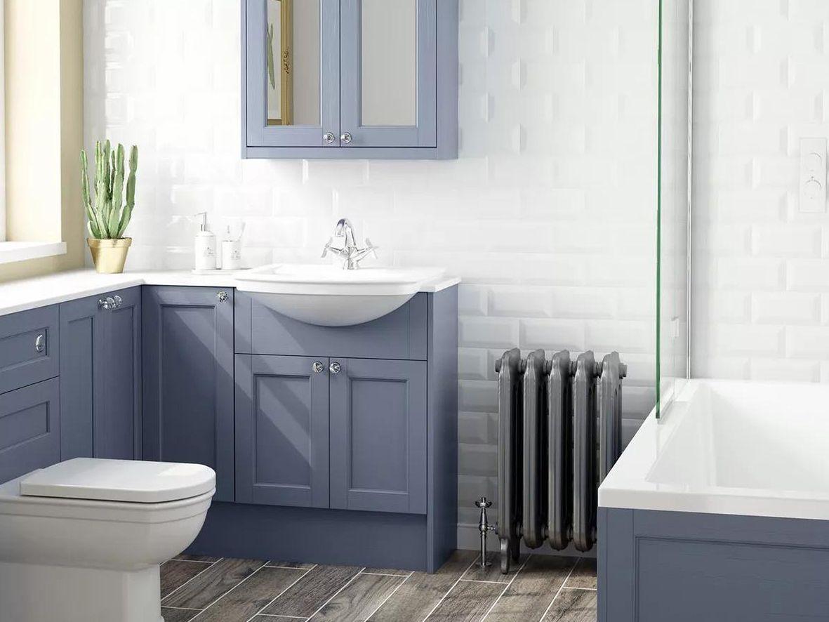 John Lewis Legacy bathroom - visit our John Lewis bathrooms brand page.