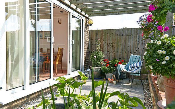 Double glazed patio sliding doors