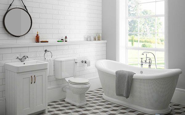 Victorian Plumbing Chatsworth bathroom