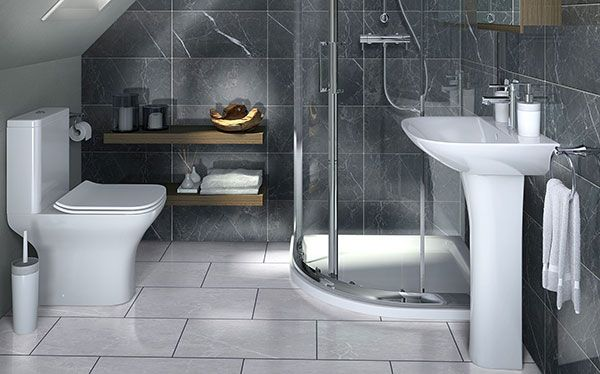 B&Q Lanzo bathroom by Cooke & Lewis