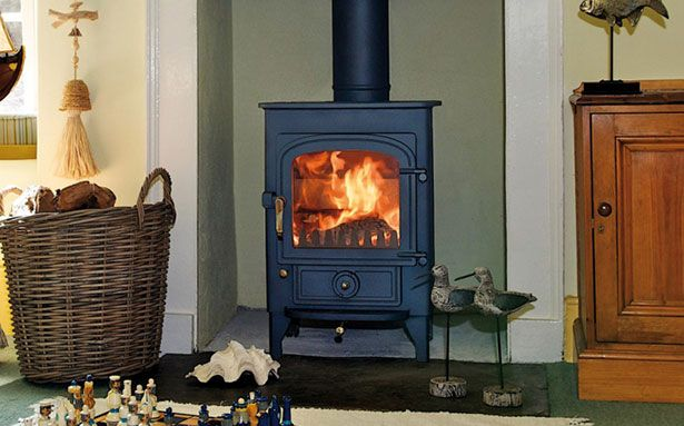 Clearview Pioneer 400 multi-fuel or wood-burning stove