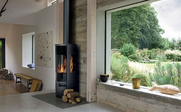 Aga Dorrington wood-burning stove