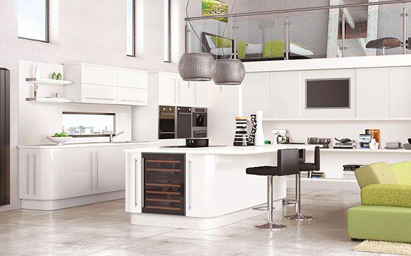 Modern open-plan Next kitchen