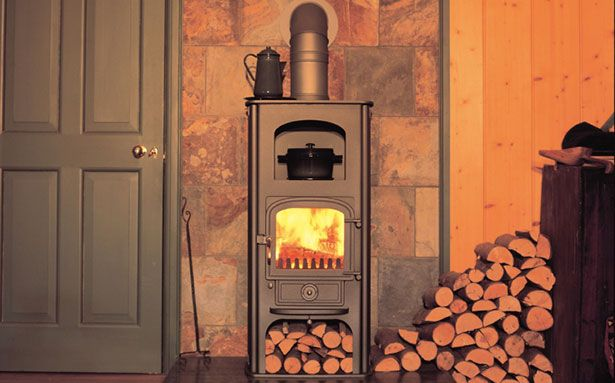 Clearview Pioneer oven multi-fuel or wood-burning stove