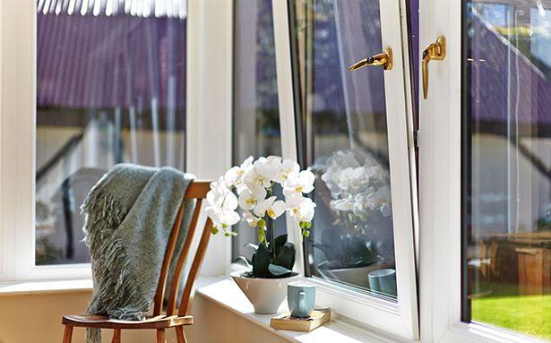 Tilt and turn double glazed windows