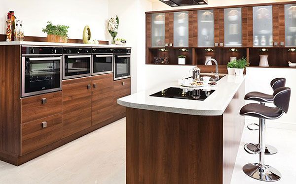 Modern built in appliances Better Living kitchen