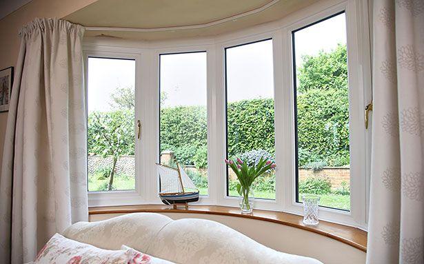 Bay double glazed windows