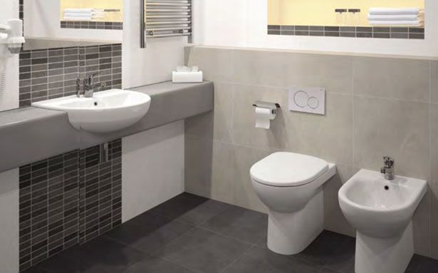 Twyford E100 Round bathroom