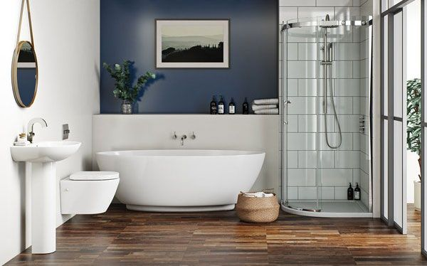 Victoria Plum Harrison bathroom by Mode Bathrooms