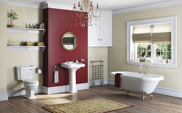 Victoria Plum Winchester bathroom by The Bath Co