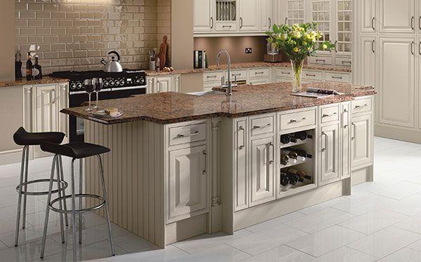 Country kitchen Homebase kitchen island