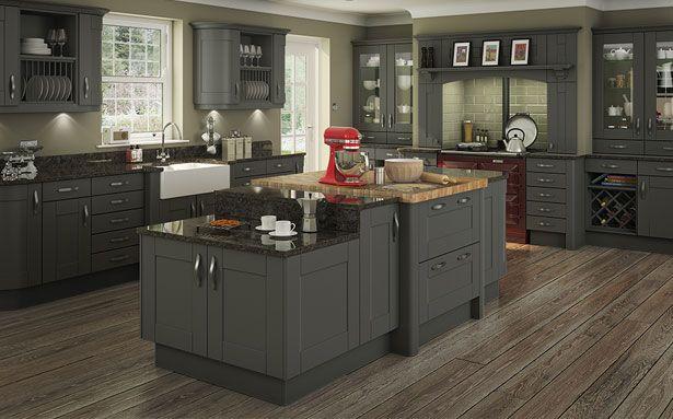 DIY Kitchens Clayton Graphite kitchen