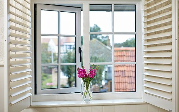 Anglian cottage double glazed windows
