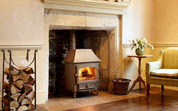Clearview Vision 500 multi-fuel or wood-burning stove