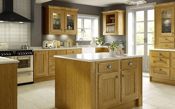 B&Q Chillingham fitted kitchen