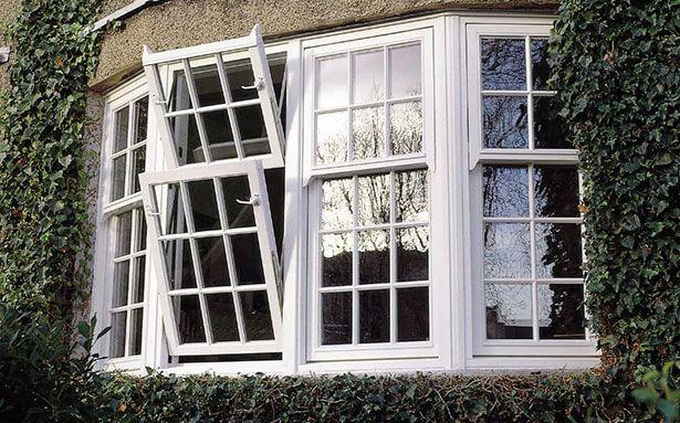Dual-turn double glazed windows