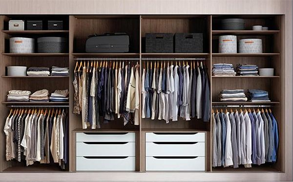 Hammonds premium fitted wardrobe interior