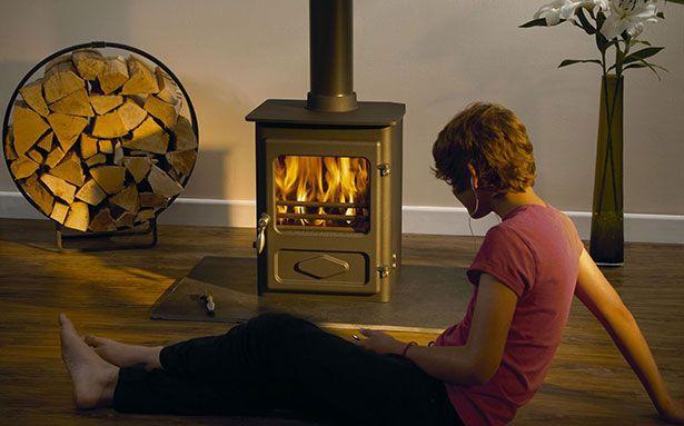 Woodwarm Foxfire multi-fuel stove