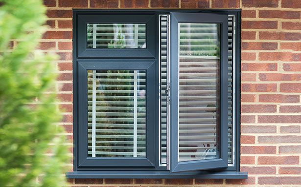 Everest Aluminium casement double glazed windows