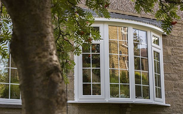 Safestyle bay double glazed windows
